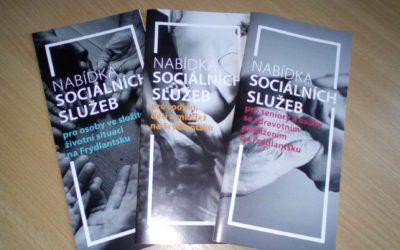 Katalog sociálních služeb - letáčky